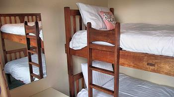Children's bedroom with bunkbeds