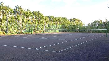 Tennis bei Quilty Cottages