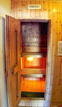 Sauna at Quilty Cottages